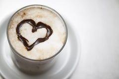 Herz mit Schokolade Lizenzfreie Stockbilder