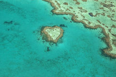 Herz-Riff, Australien Stockbild