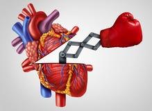 Herz-Stärke stock abbildung