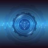 Herz-Technologie Lizenzfreie Stockfotos