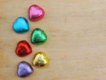 Herz, Valentinsgrußhintergrund Lizenzfreie Stockfotografie