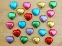 Herz, Valentinsgrußhintergrund Stockbild