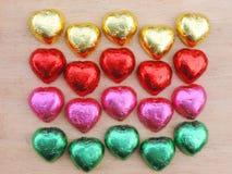 Herz, Valentinsgrußhintergrund Lizenzfreies Stockbild