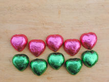 Herz, Valentinsgrußhintergrund Lizenzfreie Stockbilder