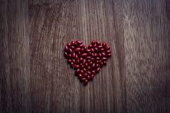 Herz von den Beeren Stockfoto