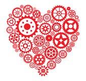 Herz von den Gängen stock abbildung