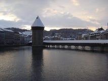 Herz von der Schweiz Stockbilder
