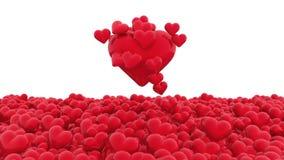 Herzaufstieg lizenzfreie abbildung