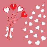 Herzblumen Stockfotografie