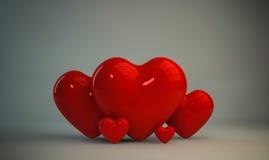 Herzen Stockfoto