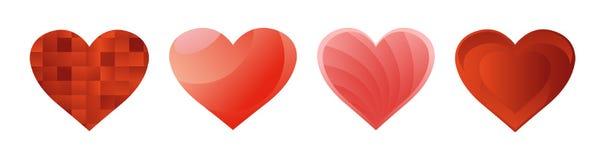 Herzen Stockfotos