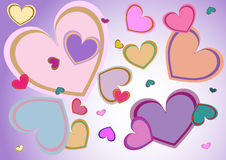 Herzen stock abbildung