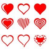 Herzen Stockbild