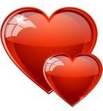 Herzen lizenzfreie abbildung