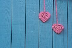Herzen als Symbol der Liebe Stockbilder
