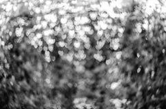 Herzen bokeh als Hintergrundbeschaffenheit Stockbilder