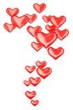 Herzen 3d Stockbild