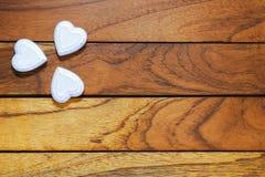 Herzen, die einen Klee bilden lizenzfreies stockbild