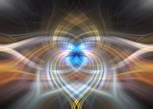 Herzen und Liebes-Verbindung lizenzfreie stockbilder