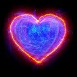 Herzform Stockbild