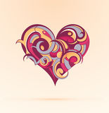 Herzformdesign Stockfotos