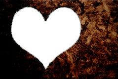Herzformen für ich liebe dich Text Lizenzfreies Stockbild