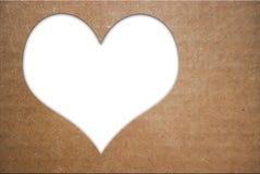 Herzformen für ich liebe dich Text Lizenzfreies Stockfoto