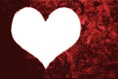 Herzformen für ich liebe dich Text Stockfotografie