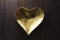 Herzformplatte lizenzfreie stockfotos