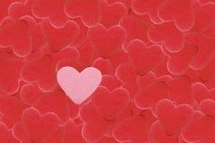 Herzformsteine Stockfotografie