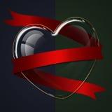 Herzglassammlung Lizenzfreie Stockfotografie