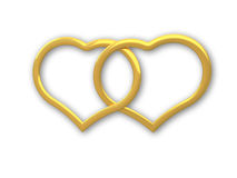 Herzgold stock abbildung