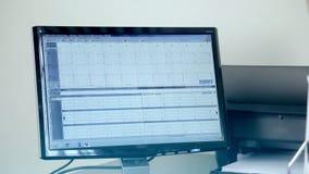 Herzherzkrankheit auf einer Computernahaufnahme stock video footage
