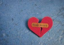 Herzinfarkt-Konzept Stockbilder