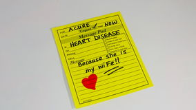 Herzkrankheitsverhinderung und -behandlung Stockfotos