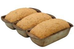 Herzliches steigendes Brot - Diagonale Lizenzfreie Stockfotografie