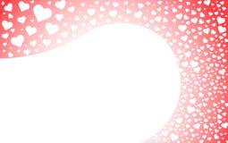 Herzlinie Hintergrund Lizenzfreie Stockbilder