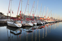 Herzliya Marina - Israel Royalty Free Stock Photos