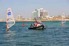 Herzliya Pituah - Israele fotografie stock