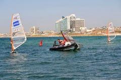 Herzliya Pituah - l'Israël photos stock