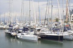 Herzliya Yacht Club Royalty Free Stock Images