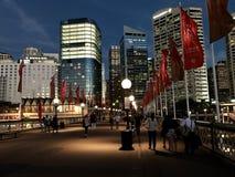Herzmuschel-Bucht-Kai in Sydney Lizenzfreies Stockfoto