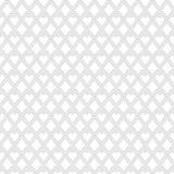 Herzmuster farblos auf weißem Hintergrund stock abbildung
