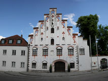 Herzogburg in Dingolfing Immagini Stock