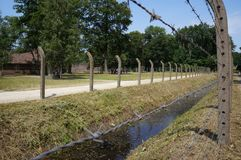 Herzogenbusch or Camp Vught concentration camp in the Netherlands. Vught, the Netherlands. July 2018. Herzogenbusch concentration camp Dutch: National Monument Royalty Free Stock Photos