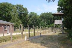Herzogenbusch of Kamp het concentratiekamp van Vught in Nederland stock foto's