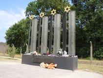 Herzogenbusch o campo de concentración de Vught del campo en los Países Bajos Fotografía de archivo libre de regalías