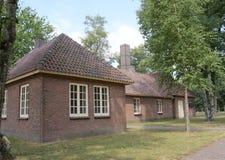 Herzogenbusch ou campo de concentração de Vught do acampamento nos Países Baixos fotografia de stock