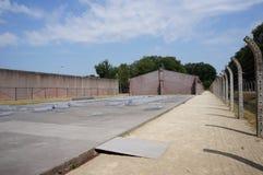 Herzogenbusch ou campo de concentração de Vught do acampamento nos Países Baixos imagens de stock