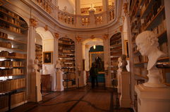 Herzogin Anna Amalia library in Weimar, Germany. The interior of the Herzogin Anna Amalia library in Weimar, Germany Stock Photo